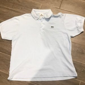 LACOSTE LIGHT BLUE POLO 6